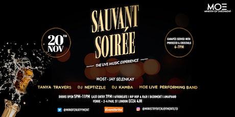 Sauvant Soirée - The live music experience! tickets