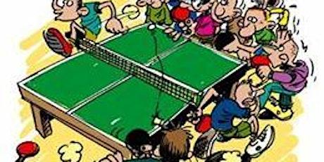 Recreatief Tafeltennis:  Sport Spel Ontspanning.  Herfstvakantie actief tickets