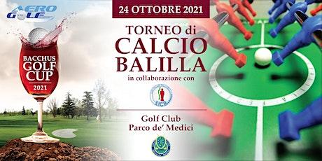 Bacchus Golf Cup by AeroGolf - Torneo di calcio balilla biglietti