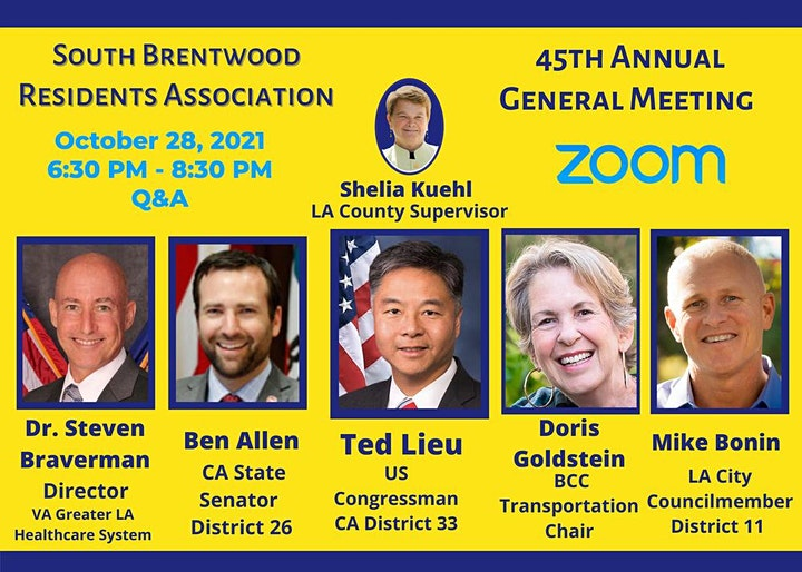 South Brentwood Residents Association 45th Annual General Meeting image