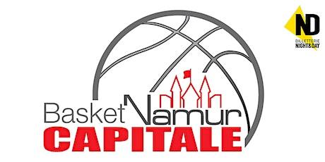 BASKET NAMUR CAPITALE  - WAREGEM billets