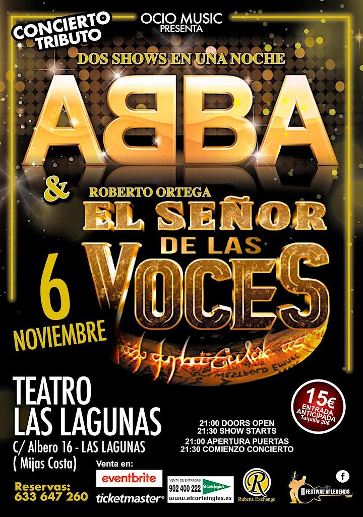 Tributo a ABBA & Señor De Las VOCES image