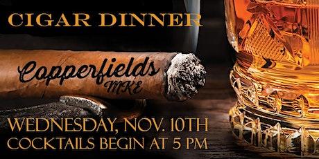 Copperfield's MKE Cigar Dinner tickets