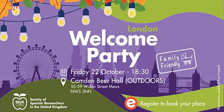 SRUK London Welcome Party 2021 tickets