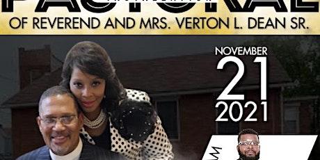 Reverend Verton L. Dean, Sr. Pastoral Installation  Banquet tickets