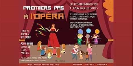 Premiers pas à l'opéra à La Ferme Rose 24/10/21, 13h30 billets