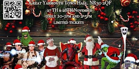 A CapCon Christmas tickets