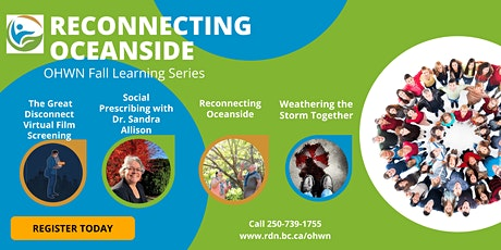 Reconnecting Oceanside : OHWN Fall Learning Series - tickets