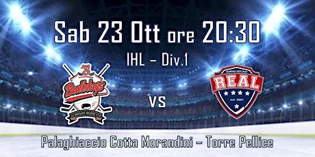 HC Valpellice Bulldogs - HC Real Torino biglietti