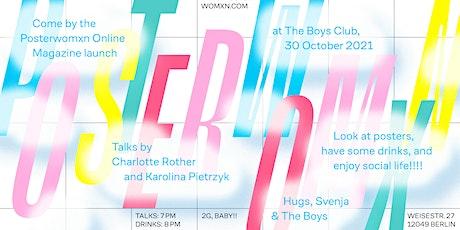 Posterwomxn Talks at The Boys Club tickets