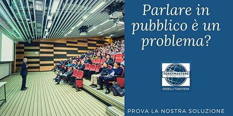 Public Speaking con metodo Toastmasters a Genova. tickets