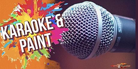 Karaoke  & Paint tickets