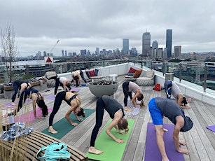 Rooftop Yoga at Bower Boston tickets
