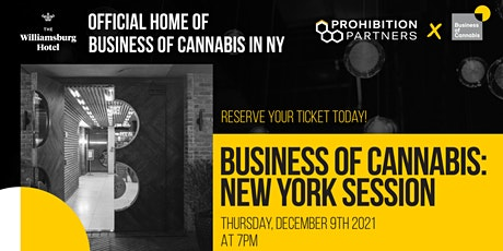 Business of Cannabis: New York Session tickets