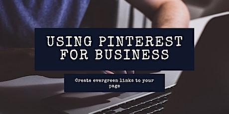 Pinterest for Business Workshop tickets