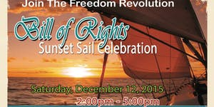 Bill of Rights Sunset Sail Celebration