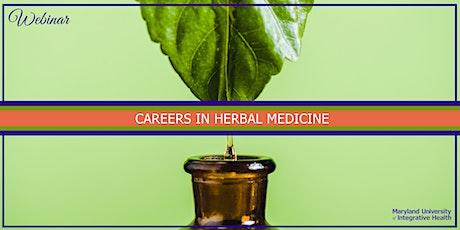 Webinar | Careers in Clinical Herbal Medicine tickets