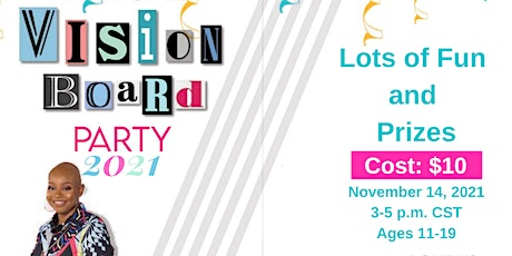 Celebrating You, Inc. Invites You to - Virtual Vision Board Party tickets