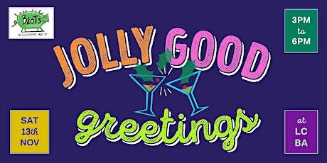 Jolly Good Greetings printing workshop tickets