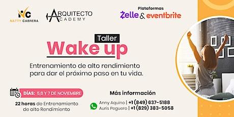CUOTAS of Entrenamiento WAKE UP | Alto Rendimiento boletos