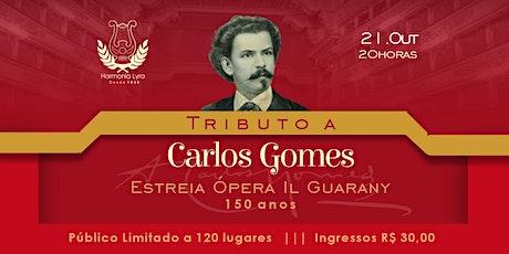 Concerto Tributo a Carlos Gomes ingressos