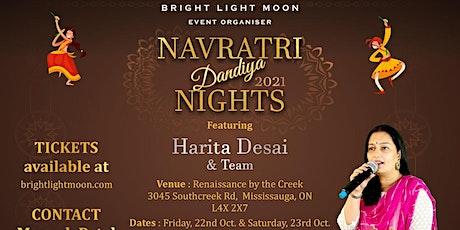 Navaratri Dandiya Nights  - E Halo Raas Garba Ramva Mississauga Toronto tickets