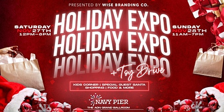 Holiday Expo and Toy Drive at Navy Pier tickets