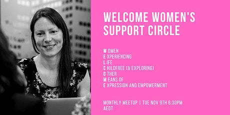 Women Without Kids Monthly Meetup November tickets