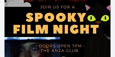 SPOOKY FILM NIGHT!! (MiTribe/Lonely Artists October Screening) tickets