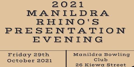 2021 Manildra Rhino's Presentation Evening tickets