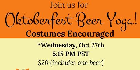 Oktober Fest Beer Yoga tickets