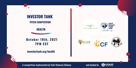 Investor Tank Pitch Event: Health tickets
