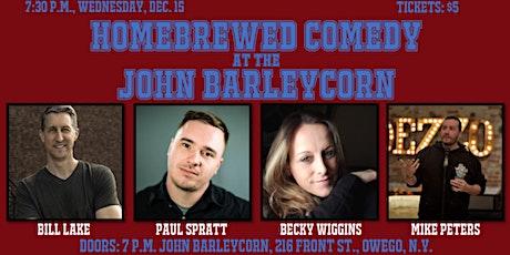 Homebrewed Comedy at the John Barleycorn tickets
