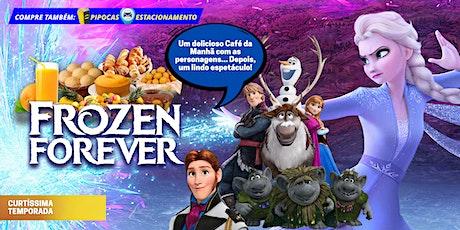 DESCONTO! Café da Manhã + Teatro: Frozen Forever no Teatro BTC ingressos