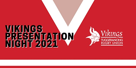 Vikings Rugby Presentation Night 2021 tickets