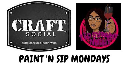 Paint N Sip Mondays @ Craft Social Bar: Dreamcatcher tickets