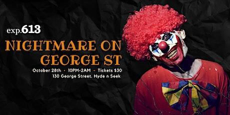 Nightmare on George Street  (Halloween Party) tickets