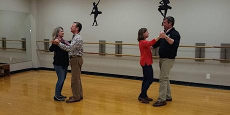 Beginner Foxtrot and Waltz Dance Class--4 Wk. Session tickets