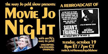 Rerun: SATAN'S TRIANGLE | Movie Jo Night with MST3K's Mary Jo Pehl tickets