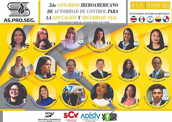 Imagen de II Congreso Iberoamericano  Autoridad de Control Educación y Seguridad Vial