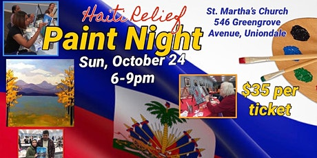 Paint Night for Haiti Relief tickets