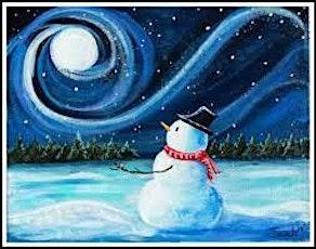 Paint 'N Sip Mondays @ Craft Social Bar: Winter Wonderland tickets