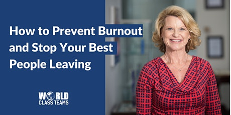 How to Prevent Burnout & Stop Your Best People Leaving tickets