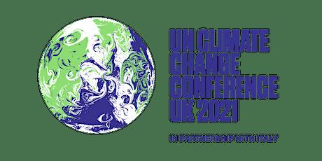 COP26 & Australian leadership on climate tickets