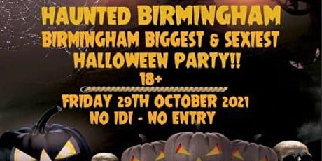 Haunted Birmingham Halloween Party tickets