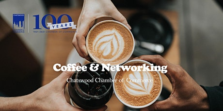 First IN PERSON Coffee Networking tickets