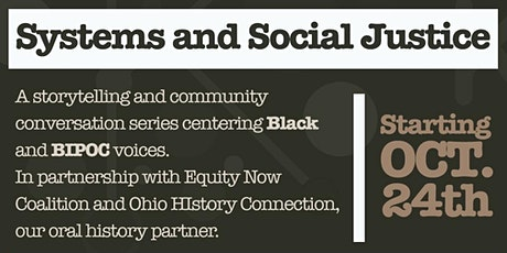 Systems and Social Justice:  Health and Healthcare Community Conversation tickets