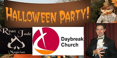 Halloween Pizza Party and Magic Show Pre-Registration (New Covid Measures) tickets