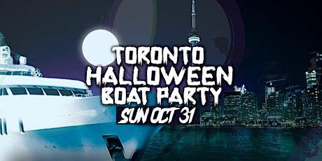 TORONTO HALLOWEEN BOAT PARTY | SUN OCT 31 tickets