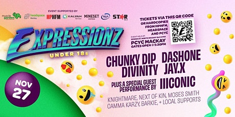 Expressionz Under 18's Festival - Mackay tickets